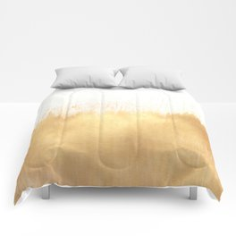 Brushed Gold Comforters