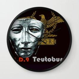 Teutoburg Forest Battleground Artifacts Wall Clock