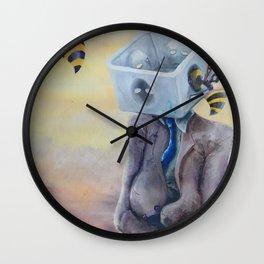 Time & Box Wall Clock