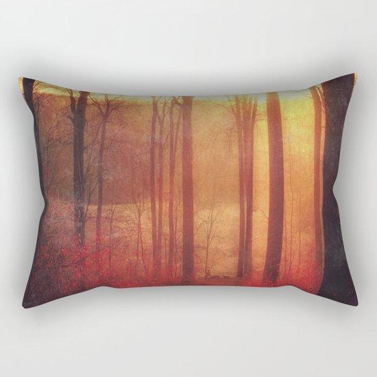 scarlet haze Rectangular Pillow