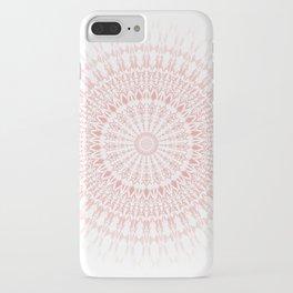 Rose Quartz Mandala iPhone Case