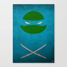 TMNT Leo poster Canvas Print