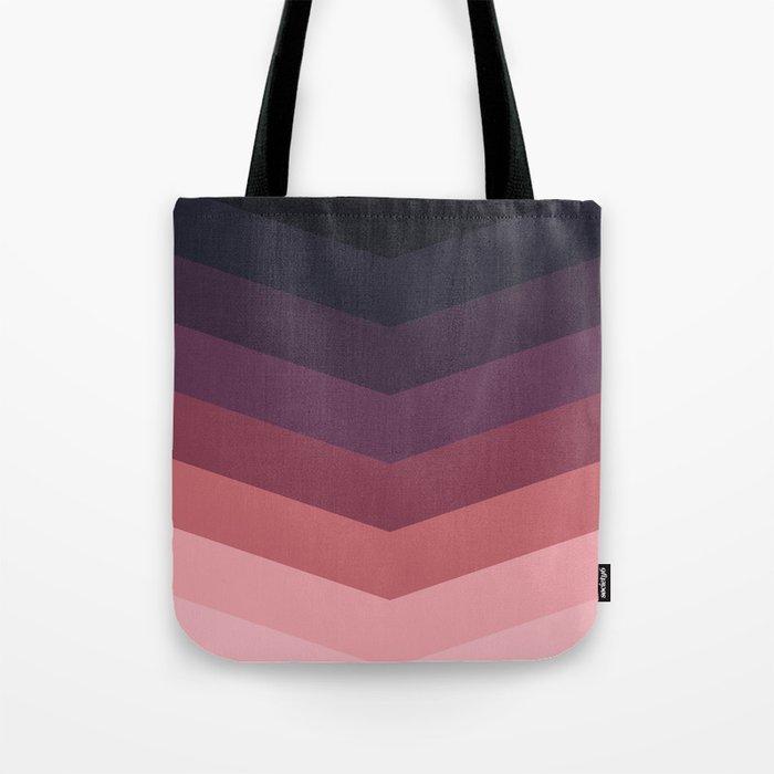 Purple Thunder Storm Tote Bag
