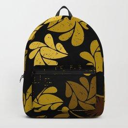 Afro Diva : Gold Backpack