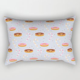 Sweets,cakes and coffee pattern Rectangular Pillow