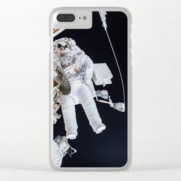 Spacewalk Clear iPhone Case