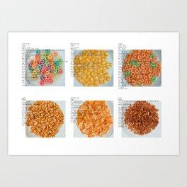 All American Ingredients - General Mills Art Print