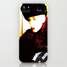 Cotton Club The Ice Queen iPhone Case