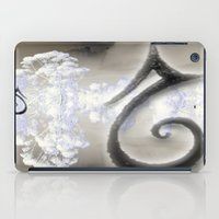 swan iPad Cases featuring Swan by CrismanArt