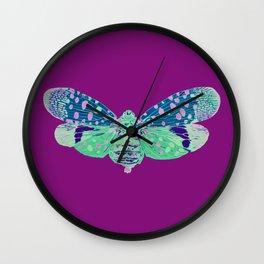 Spotted Lantern Bug Wall Clock