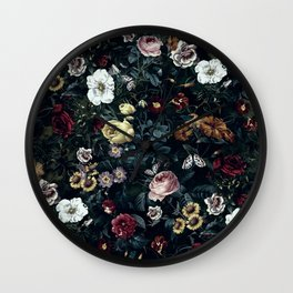 Botanical Garden V Wall Clock