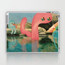 lago animato Laptop & iPad Skin