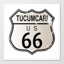 Tucumcari Route 66 Canvas Print