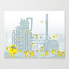 Smoldering Catalyst Canvas Print
