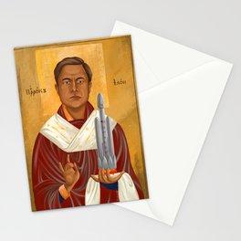 Holy Prophet Elon Musk Stationery Cards