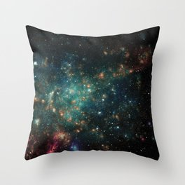 Spacescape Throw Pillow