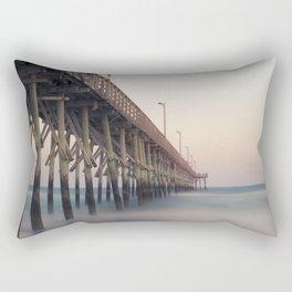 Pier at Dusk Rectangular Pillow