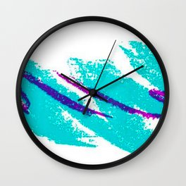 90s jazzy Wall Clock