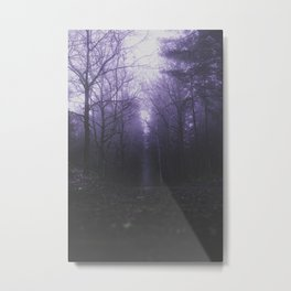 Cold streets Metal Print