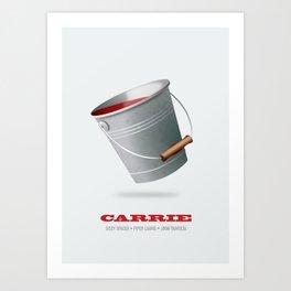 Carrie - Alternative Movie Poster Art Print