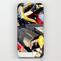 motorcycle iPhone & iPod Skins featuring Motorcycle by Carlo Toffolo