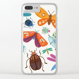 Bug Collective Clear iPhone Case