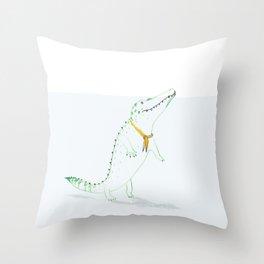 Croco Throw Pillow