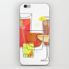 Swanky Summer Coolers iPhone & iPod Skin