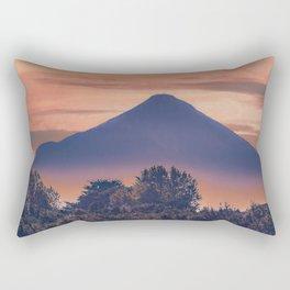 Osorno Volcano Landscape Scene, Chile Rectangular Pillow
