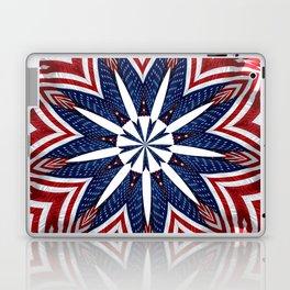 American Flag Kaleidoscope Abstract 2 Laptop & iPad Skin