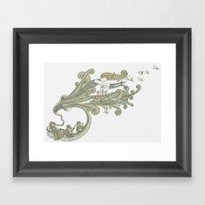 Wayfaring Waltz Framed Art Print