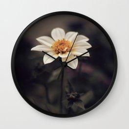 Italian Flower Wall Clock