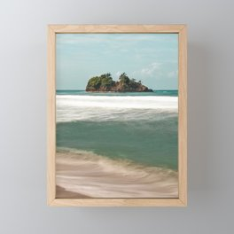 Island vibes Framed Mini Art Print