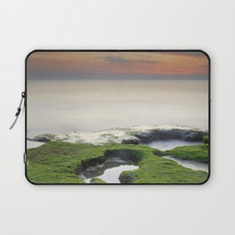 Green, white a red coast Laptop Sleeve