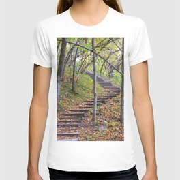 Stairway into the Woods T-shirt