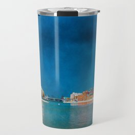 Snow Showers Over Moscow Travel Mug