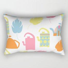 Tea pattern 3 Rectangular Pillow