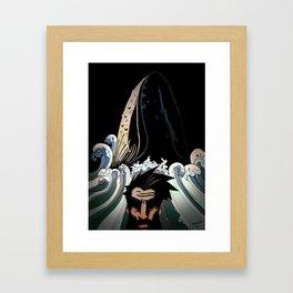 Achab Framed Art Print