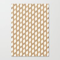 chocolate Canvas Prints featuring Chocolate by HK Chik
