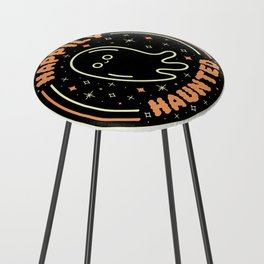Happily Haunted Counter Stool