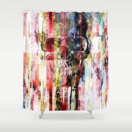Lenny Hostile Shower Curtain