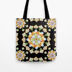 Jaipur Blossom Mandala Tote Bag