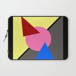Two Triangles zip zip Laptop Sleeve