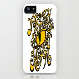 Krazy Kitty on Transparent iPhone Case
