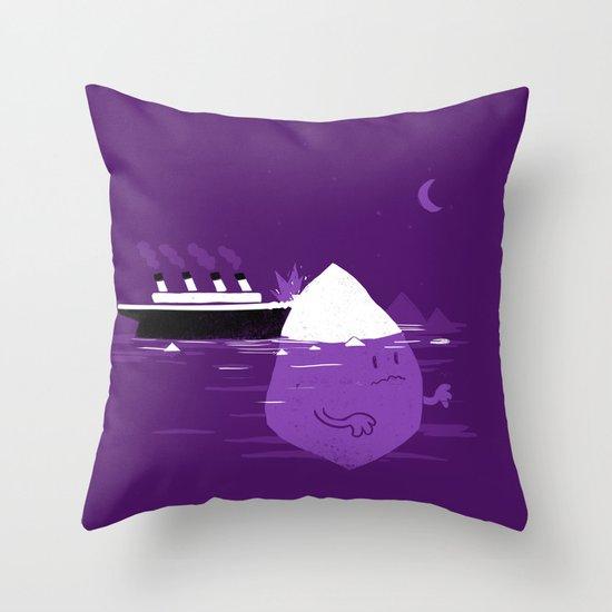 Rude Awakening Throw Pillow