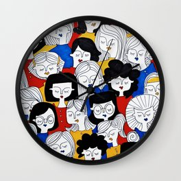 Fashion pattern Wall Clock