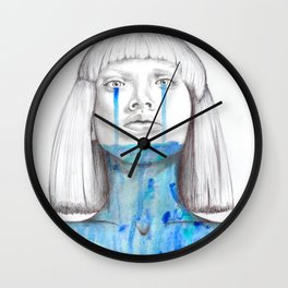 I'm just holding on for tonight Wall Clock