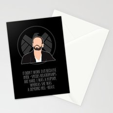 Agents of S.H.I.E.L.D. - Hunter Stationery Cards