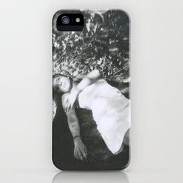 I can feel you all around me. iPhone Case