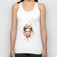frida Tank Tops featuring Frida by Tracie Andrews